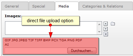 Doc-module Direct file Upload