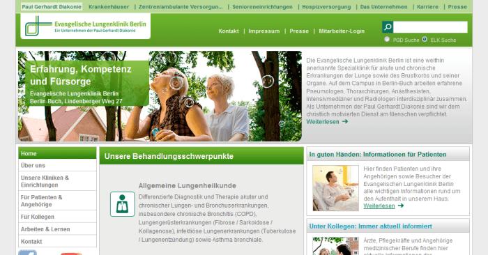 PGD Evangelisches Lungenklinik Berlin