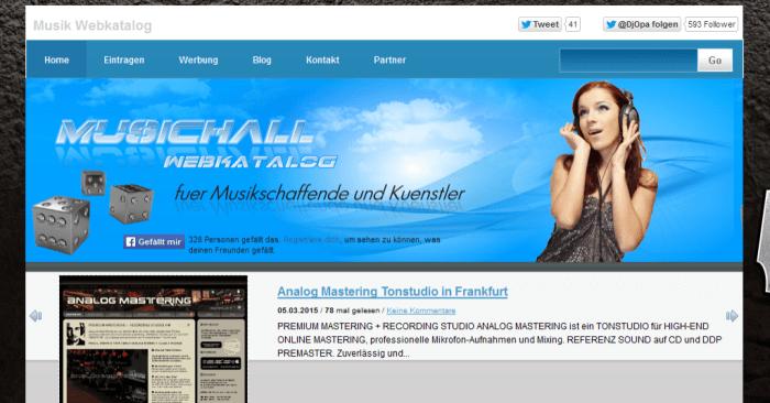 MusikHall Portal