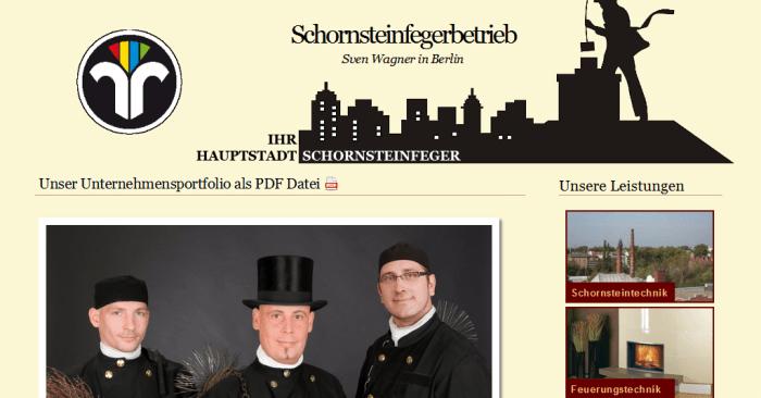 ReDesign Schornsteinfeger