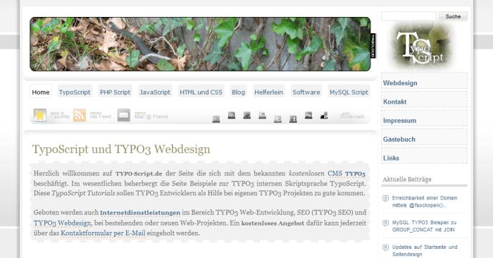 TYPO3 Blog